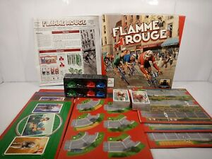 Flamme Rouge Board Game (2017 Stronghold Games) New Contents Bicycle Racing Game