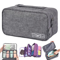 Bra Organizer Container Underwear Case Travel Portable Storage Bag Box ProtectGX