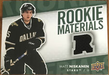 2007-08 Upper Deck Rookie Materials Matt Niskanen RM-MN Dallas Stars