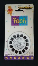 TYCO VIEW-MASTER WINNIE THE POOH  3 REELS / 21 3-D PICTURES BRAND NEW 1995