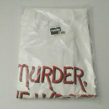 Vintage Murder She Wrote 1994 T-shirt XL SEALED Tultex