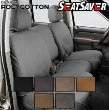 Covercraft Custom SeatSavers Polycotton - Front and 2nd Rows - 6 Color Options