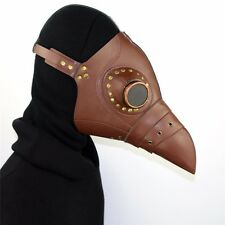 Steampunk Punk Gothic Plague Doctor Mask Bird Beak mask Halloween Cosplay Masque