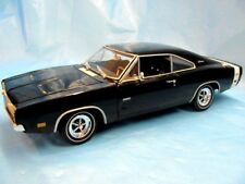 1969 Dodge Charger R/T 1:18 Ertl Black/Black MIB Limited Edition 1 of 3749