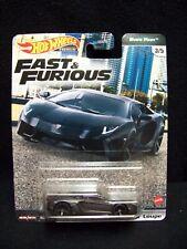 Hot Wheels Fast & Furious Euro Fast Lamborghini Adventador Coupe.