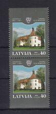 Briefmarken mit Bauwerks-Thema aus Lettland