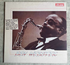 Ben Webster ‎– Ben Webster Label: Musica Jazz ‎– 2 MJP 1068 Format: Vinyl, L LP