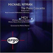 Michael Nyman Piano concerto/MGV (1994) [CD]