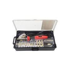 23 Piece Wood Burning Soldering Tool Set Pyrography Kit Brass with Tips & Stand
