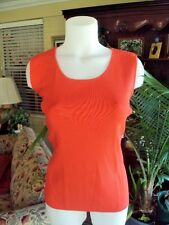 Chico's Womens  sleeveless Top/Tee/ Tank   Coral/Red   Size 3