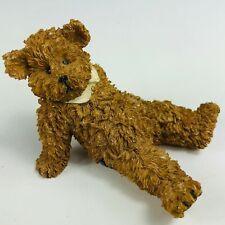 Vintage Boyds Bears & Friends Folkstone Warm Hearted Bear Laying Down Figurine