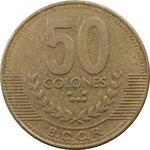 COSTA RICA - 50 COLONES - 1999