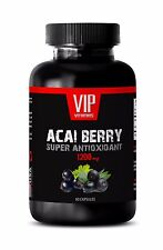 Acai berry cleanse - PURE ACAI BERRY 1200MG - weight loss supplements - 1 Bottle