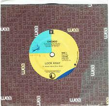 "CHICAGO - LOOK AWAY - 7"" 45 VINYL RECORD - 1988"