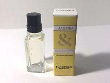 L'Occitane Jasmin & Bergamot Eau de Toilette 0.25 oz 7.5 ml Mini Perfume NIB