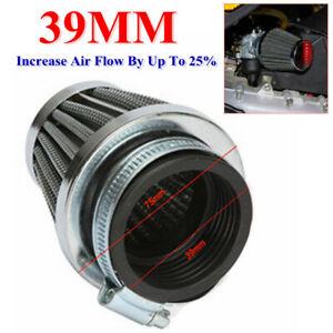 Motorcycle ATV 39MM Modified Motor Air Intake Filter Air Cleaner Mushroom Head