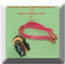 1P1028 / 2 Wires Electrical Connector of Engine Cooling Fan Motor & Fuse Holder
