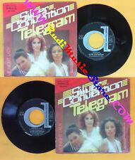 LP 45 7'' SILVER CONVENTION Telegram Midnight lady 1977 italy no cd mc dvd (*)