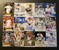 2018 Topps Series 1 2 and Update Inserts with Black and Blue Parallels You Pick