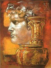 Joadoor: Thamatos´ Pottery Fertig-Bild 60x80 Wandbild Antik Antike