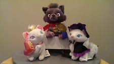 Aristocats Disney Store Exclusive Plush Lot - Best of Show Berlioz & 2 Maries