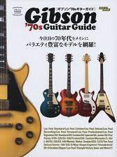 Gibson 70's Guitar Guide Japanese Book Les Paul SG EB ES L Firebird Flying V