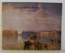 Joseph Mallord William Turner English Romanticist Art Exhibit Catalog Memphis TN