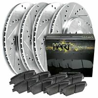 2 Front Brake Rotors /& Ceramic Pads 31270 CD923 2003-2008 Matrix Vibe 1.8L