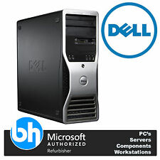 Dell Precision 390 Intel Dual Core 2.66GHz 500 GO 4 RAM Tour PC de bureau Win 10