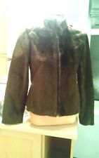 DOROTHY PERKINS FUR WINTER JACKET BRAND NEW SIZE 8