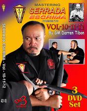 Serrada Grandmaster Dvd Set Filipino Martial Arts Weapons Fighting Techniques