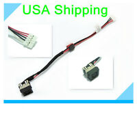Original DC IN power jack cable harness for Dell Inspiron 17-3721 17R-5721 5735