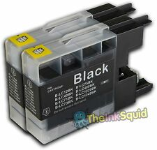 2 Black Ink Cartridges for Brother DCP-145C DCP 145 C