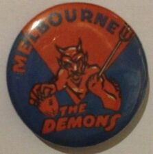 VFL/AFL COLLECTABLE BADGES MELBOURNE DEMONS