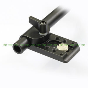 Mini Cheese Mount Plate 15mm Rod Clamp fr Rigs Armor Cage Gimbal Camera GH4 A7s