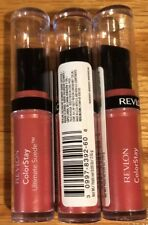 Lot of 3 Revlon Colorstay Ultimate Suede Lipstick New - It Girl 060 Free Shipn