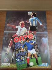 Football Magazine ONZE (MONDIAL) No 19 (1977) Poster LATO PASSARELLA M'GLADBACH