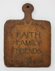 Faith Family Friends Home Decor Sign Decoration Tabletop Plaque