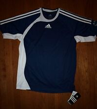 Adidas Performance Navy Blue Soccer Top And Shorts ClimaLite XL NWT