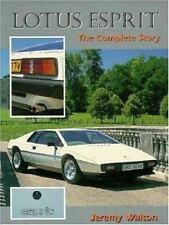Lotus Esprit : The Complete Story by Jeremy Walton (1997, Paperback)