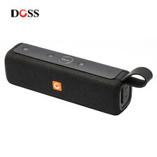 DOSS E-go II Portable Bluetooth Speakers with Superior Sound and Extra Bass Blac
