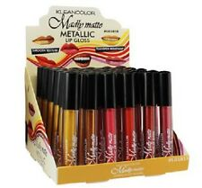 6 pcs set Kleancolor Madly Matte Metallic Liquid LipGloss Lipstick LG1819