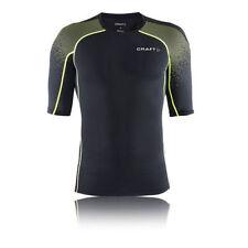 Abbiglimento sportivo da uomo verde di compressione