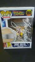 Funko Pop - Back to the Future_#960 Doc 2015_Signed by_Christopher Lloyd + COA