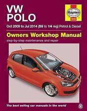VW Polo Haynes Manual 2009-14 1.2 1.4 1.6 Petrol & Diesel Workshop Manual