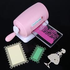 DIY Metall Die Big Shot Starter Kit Stanzmaschine Prägemaschine Pink Cutting Die