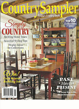 COUNTRY SAMPLER, TODAY'S COUNTRY STYLE   SIMPLY COUNTRY  JANUARY, 2017  VOL. 34