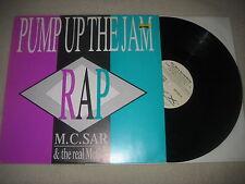 "M.C. SAR & THE REAL McCOY-Pump up the jam Vinyle 12"" MAXI"