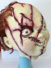 Bride of Chucky Adult Rubber Mask Horror Halloween Costume