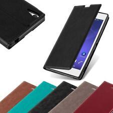 Handy Hülle für Sony Xperia T3 Cover Case Tasche Etui mit Kartenfach
